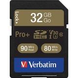 CARD;MEM;SDHC;U3;PRO+;32GB