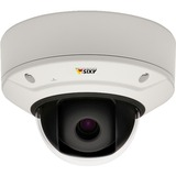 Axis Q3517-LV Fixed Dome Network Camera - Day and night fixed dome with support for Forensic WDR, Lightfinder and OptimizedIR with built-in IR illumination. Discreet, dust and IK10 vandal-resistant indoor casing. Varifocal 4.3 – 8.6 mm P-Iris lens with remote zoom and focus for installation or monitoring. Multiple, individually configurable H.264 and Motion JPEG streams. 5 MP at 30 fps with WDR, and 4 MP at up to 60 fps with WDR disabled. Zipstream for reduced bandwidth and storage. Video motion detection, shock detection and active tampering alarm. Two-way audio and audio detection. Supervised inputs, digital outputs for alarm and event handling. Electronic image stabilization. Memory card slot for optional local video storage. Power over Ethernet or 8-28V DC power with redundancy. Midspan and power supply not included. Includes mounting bracket for wall or junction boxes.