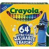 CRAYONS;WASHABLE;64CT