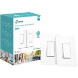 Smart WiFi 3-Way Light Switch,2-Pak