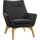 CHAIR;LOUNGE;BLK