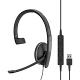 SC 135 USB Headset(single) 3.5mm