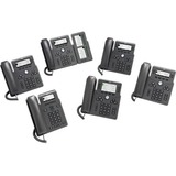 Cisco 6871 Phone for MPP, Color